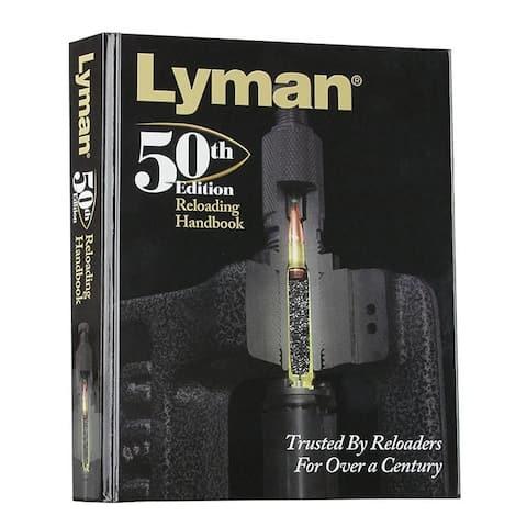 Lyman 50th Anniversary Reloading Handbook Hardcover