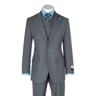 San Giovesse Light Gray Wide Leg, Pure Wool Suit & Vest by Tiglio Rosso https://ak1.ostkcdn.com/images/products/is/images/direct/84c8345cff656990fe0a3886564306d611c24e56/San-Giovesse-Light-Gray-Wide-Leg%2C-Pure-Wool-Suit-%26-Vest-by-Tiglio-Rosso.jpg?impolicy=medium
