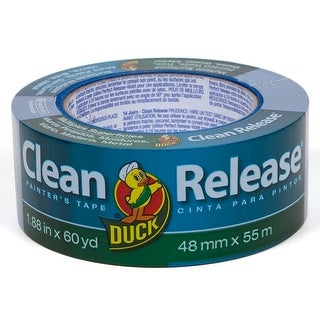 """Duck 240195 Clean Release Multiple Surfaces Painter's Tape, 1.88"""" x 60 yd"""
