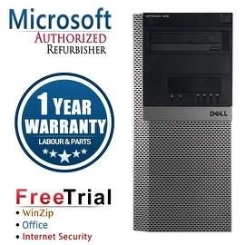 Refurbished Dell OptiPlex 980 Tower Intel Core I5 650 3.2G 8G DDR3 2TB DVD Win 7 Pro 64 Bits 1 Year Warranty