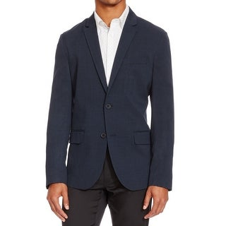 Reaction Kenneth Cole NEW Blue Mens 2XL (50) Slim Two Button Blazer