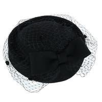 Jeanne Simmons Women's Wool Felt Church Hat with Netting
