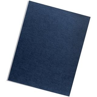 Fellowes Binding Linen Presentation Covers, Letter, Navy, 200 Pack (52098)