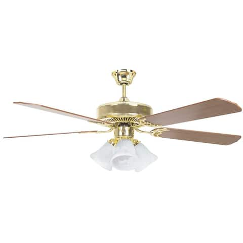 Concord Fans Heritage Home Fan, LED Three Light Kit