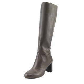 Nine West Cambridge Women  Round Toe Leather Gray Knee High Boot