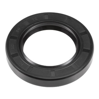 Oil Seal, TC 50mm x 80mm x 12mm, Nitrile Rubber Cover Double Lip - 50mmx80mmx12mm