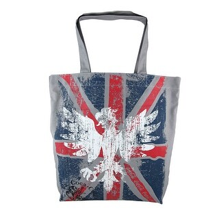 Coca-Cola Union Jack Flag Eagle Tote Bag Coke - Multicolored