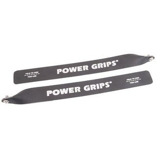 Power Grips Bicycle Pedal Straps - Extra Long - Black