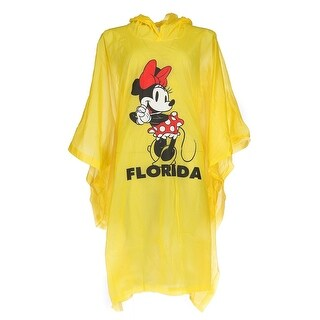 Disney Kid's Minnie Mouse Florida Rain Poncho - One size
