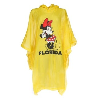 Disney Women's Minnie Mouse Florida Rain Poncho - One size