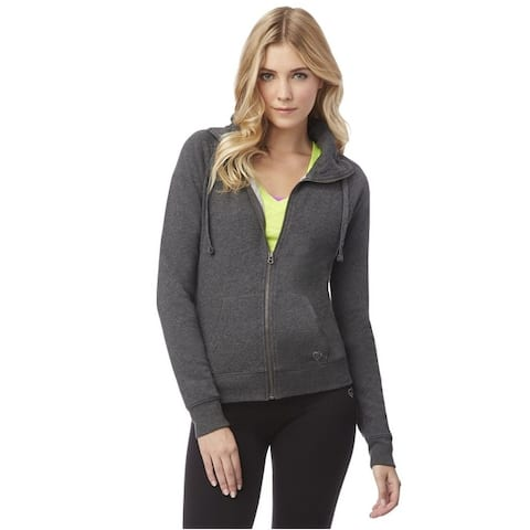 Aeropostale Womens Heathered Fz Sweatshirt