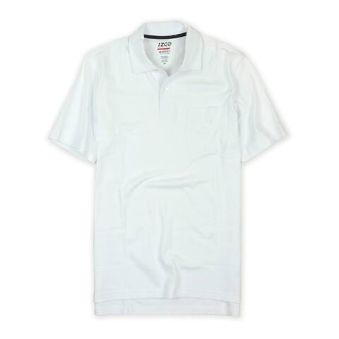 Izod Mens Performx Basix Sun Control Upf 15 Rugby Polo Shirt