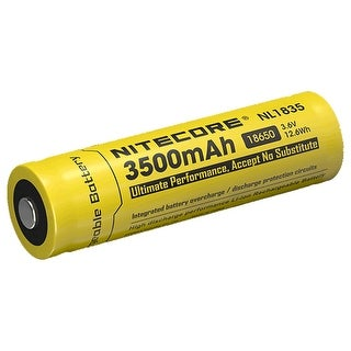 NITECORE NL1835 3500mAh Rechargeable 18650 Li-ion Battery