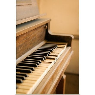"""""""Old piano"""" Poster Print"""