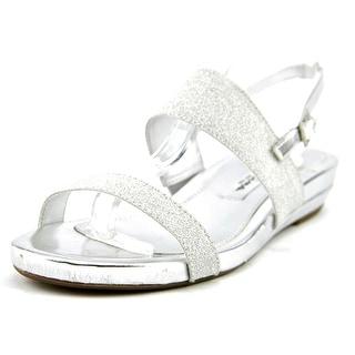 Nina Barrie Open Toe Canvas Sandals