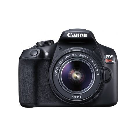 Canon EOS Rebel T6 DSLR Camera with 18-55mm Lens - all