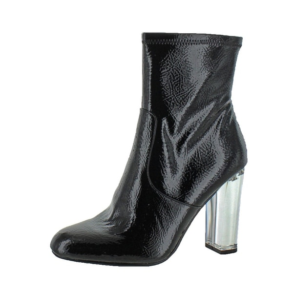 51966ac533 Shop Steve Madden Womens Eminent Dress Boots Ankle Clear Heel - Free ...
