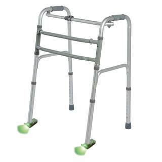 Glide & Glow Set Of Two Lighted Walker Glides - green