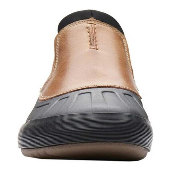 Bowman Free Loafer Dark Tan Leather