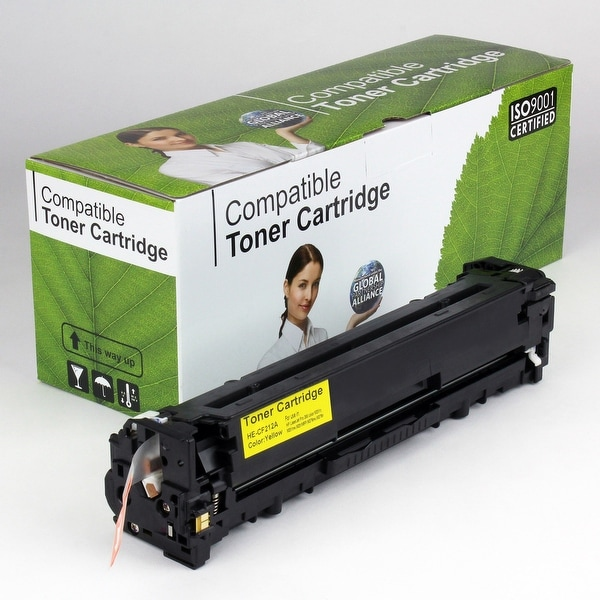 Value Brand replacement for HP 131A Yellow Toner CF212A (1,800 Yield)