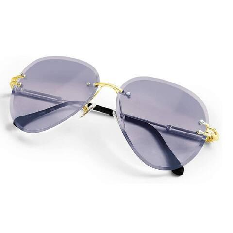 Women Aviation Sunglasses plastic frame polarized UV 400 Adjustable