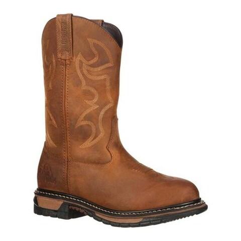 "Rocky Women's 10"" Roper Ride RKYW082 Aztec Crazy Horse Full Grain Leather"