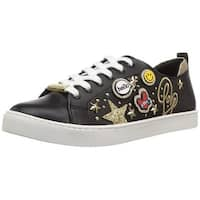 Aldo Womens umiladia Leather Low Top Lace Up Fashion Sneakers