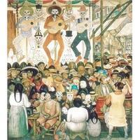 ''Dia de Muertos, 1924'' by Diego Rivera Museum Art Print (32.25 x 23.75 in.)
