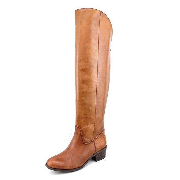 INC International Concepts Beverley Womens Cognac Boots