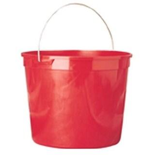 Leaktite 11 Plastic Paint Pail, 10 Quart, Red