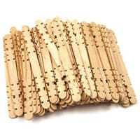 """Natural 4.5"""" 80/Pkg - Craft Skill Sticks"""