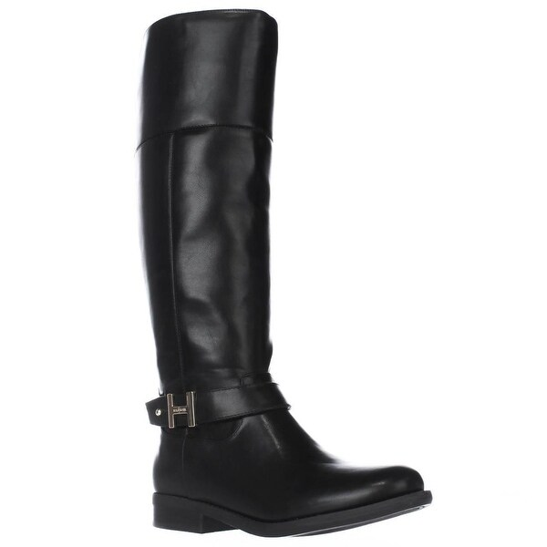 Tommy Hilfiger Shahar Knee High Boots, Black Multi