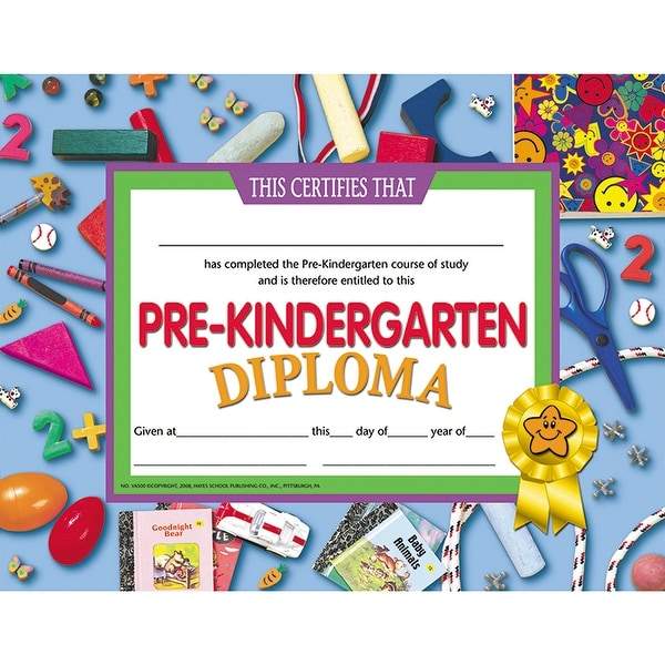 shop pre kindergarten diploma free shipping on orders over 45