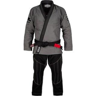 Venum Absolute Gladiator Pearl Weave BJJ Gi - Gray/Black