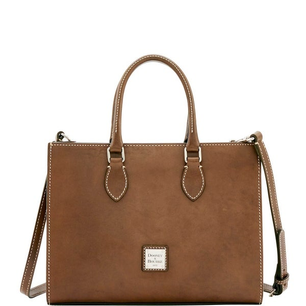 Dooney & Bourke Florentine Nuovo Janine (Introduced by Dooney & Bourke at $398 in Oct 2016) - Elephant