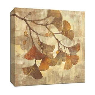 "PTM Images 9-152510  PTM Canvas Collection 12"" x 12"" - ""Ginkgo"" Giclee Ginkgo Art Print on Canvas"