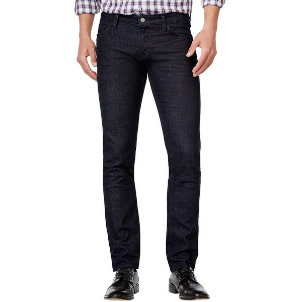 0cb80901c73 Shop Hugo Boss Orange 71 Extra Slim Fit Jeans Dark Blue Wash 33 x 32 - Free  Shipping Today - Overstock - 15923217