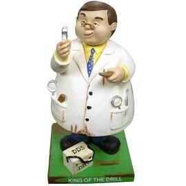 Russ Berrie Bobble Guyz Dentist 'King of the Drill'