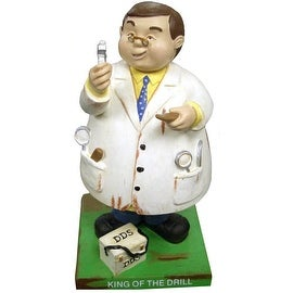 Russ Berrie Bobble Guyz Dentist 'King of the Drill'
