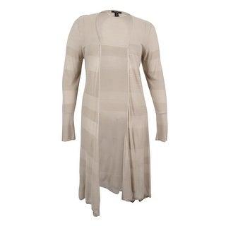 Style & Co. Women's Plus Size Open-Front Duster Cardigan