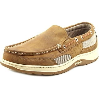 Sebago Clovehitch Men Round Toe Leather Brown Loafer