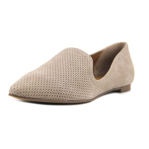 678bc1b7ef1 Shop Franco Sarto Simona 3 Women Pointed Toe Suede Gray Loafer ...