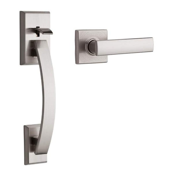 Kwikset 815TVHVDL Tavaris Lower Handleset with Vedani Interior Lever for use with Kwikset Electronic Deadbolts