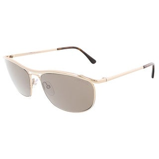 Tom Ford FT0287/S 28J TATE Pale Gold Aviator sunglasses