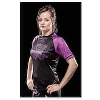 Tatami Fightwear Ladies Phoenix Rashguard - Black/Purple