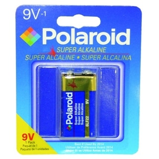 Polaroid 1 Pack 9 Volt Alkaline Battery