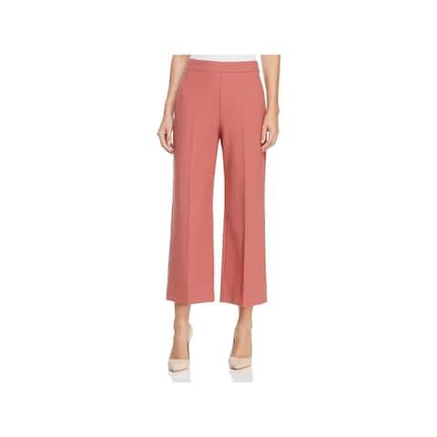 Rebecca Taylor Womens Suit Pants Cropped Wide Leg - 8