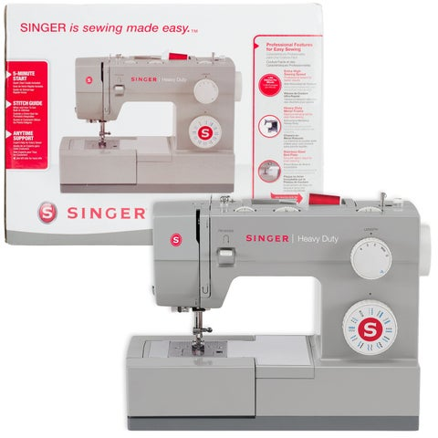 Singer Heavy Duty Sewing Machine Bundle With Storage System-
