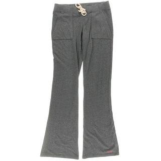 Peace Love World Womens Juniors Modal Blend Graphic Sweat Pants - M