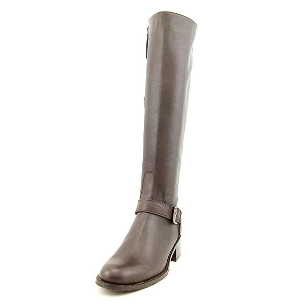 Delman Womens D-Soar Leather Tall Equestrian Boot - 6.5